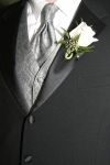 tux, tie, vest, boutinerre, groom wedding