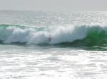 vague ocean pacifique